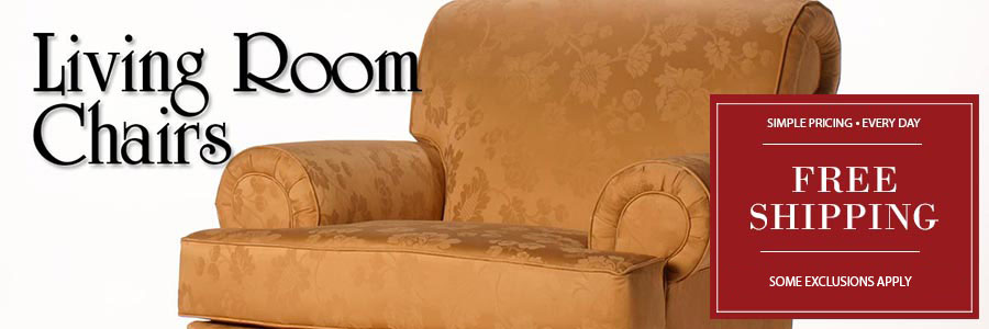 Living Room Chairs - Carrington Court Custom Chairs - Buy Direct