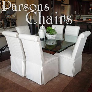 Merveilleux Custom Parsons Chairs And Dining Room Chairs That Reflect Your Personality  And Style