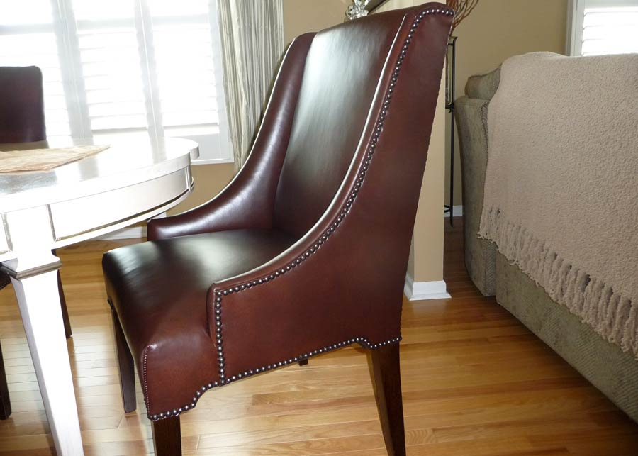 Skirted parson chairs images about decor ideas on for Affordable furniture on slauson