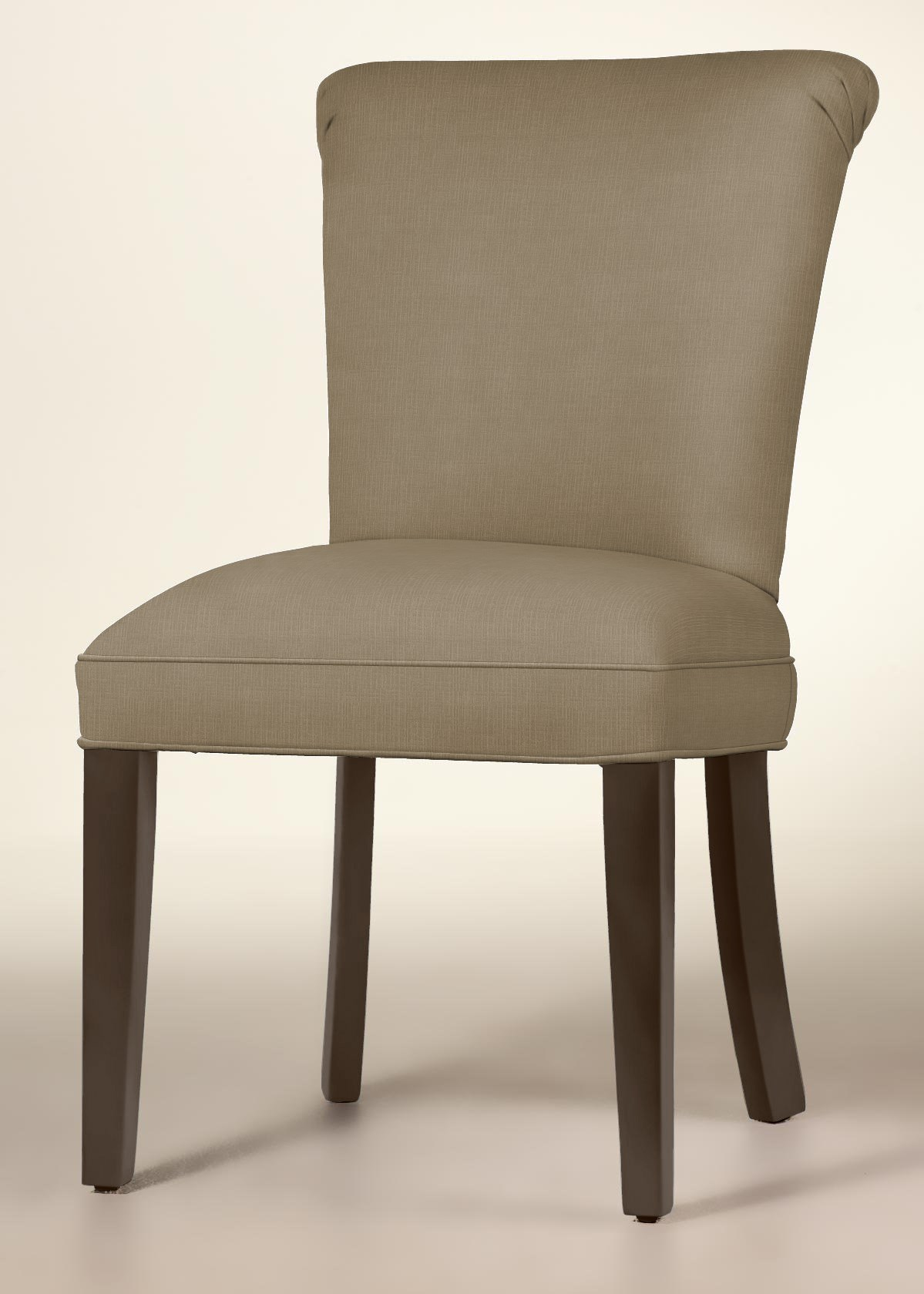 Curved Back Dining Chair (Heather Pearl)