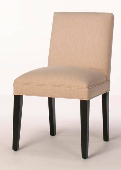Low back contemporary parsons dining chair direct to you for Modern low back dining chairs