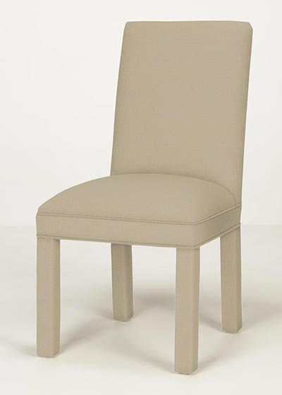 Straight Back Parsons Chair