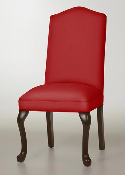 Camel Back Queen Anne Dining Chair