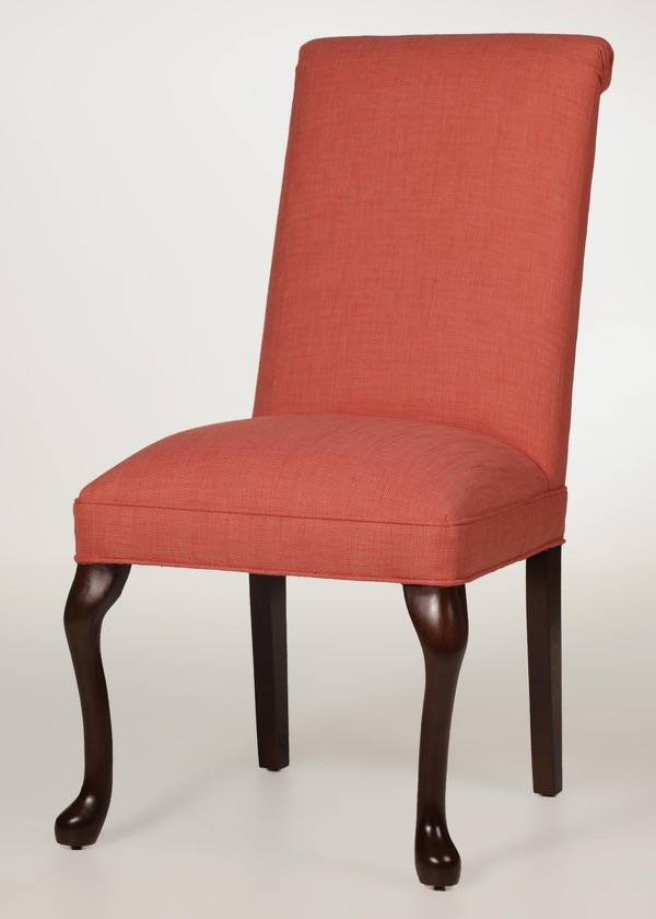 Rolled Back Queen Anne Dining Chair