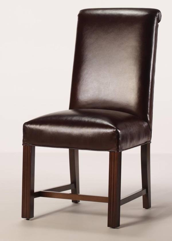 Finished Leg Parsons Chair