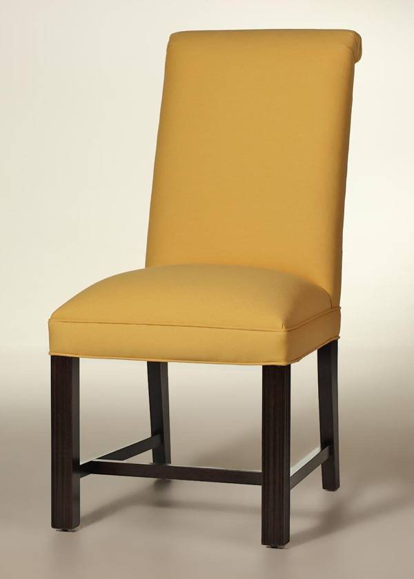 Rolled Back Chippendale Dining Chair