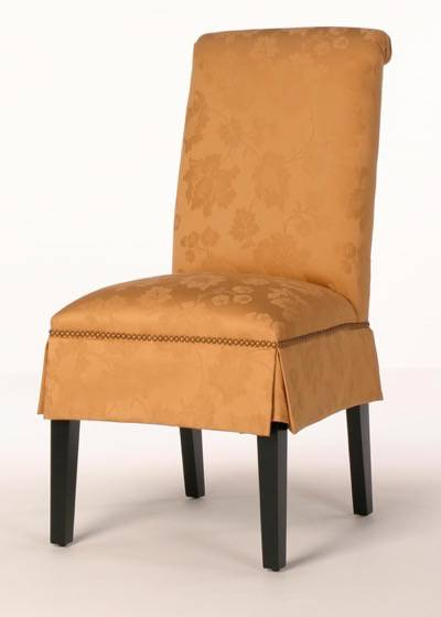 Hyannis Parsons Dining Chair Rolled Back And Nailhead Trim