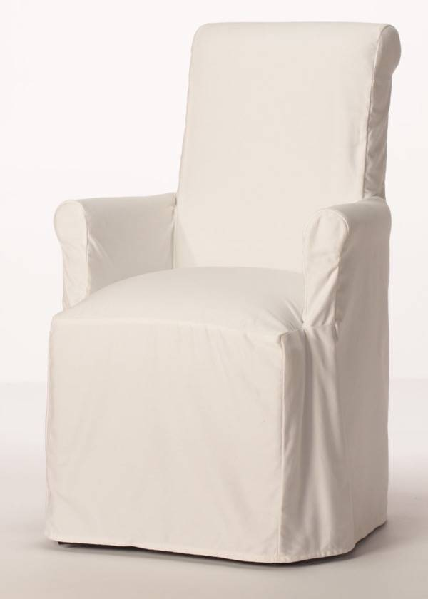 purity arm chair slipcover