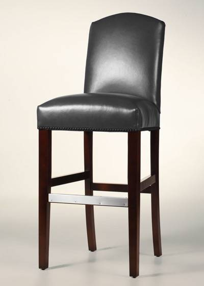 Rushmore Leather Bar Stool
