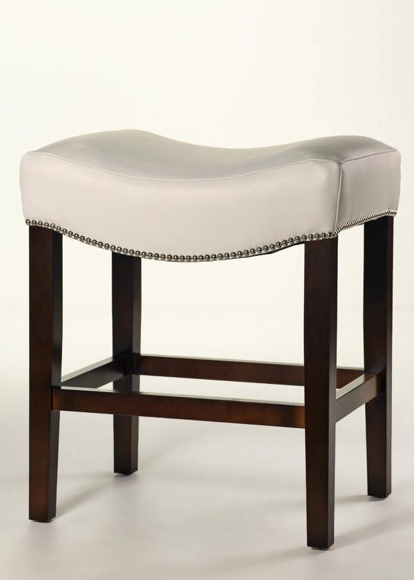 Cody Saddle Stool Custom Leather Counter Finish Trim  : B6 002703 00L BC ColemanWhite Large from www.carringtoncourtdirect.com size 600 x 840 jpeg 24kB