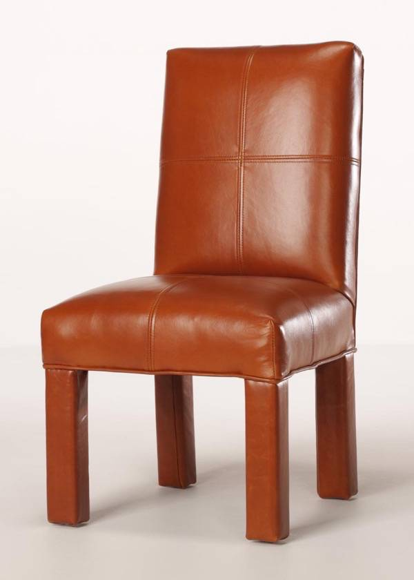 Tom Sawyer Leather Childrens Chair