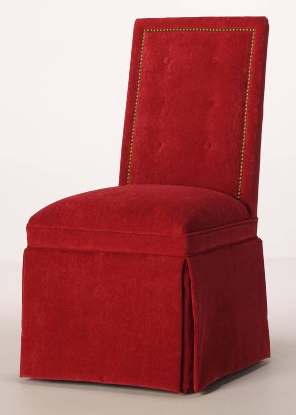 Red Dining Room Chair Slipcovers