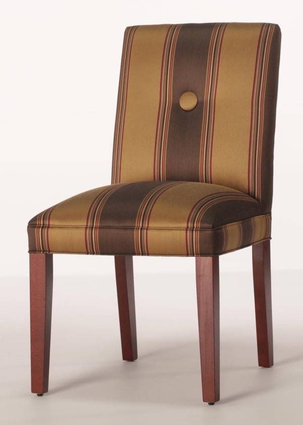 Fresno Dining Chair - Short Back Contemporary Dining Room Chair