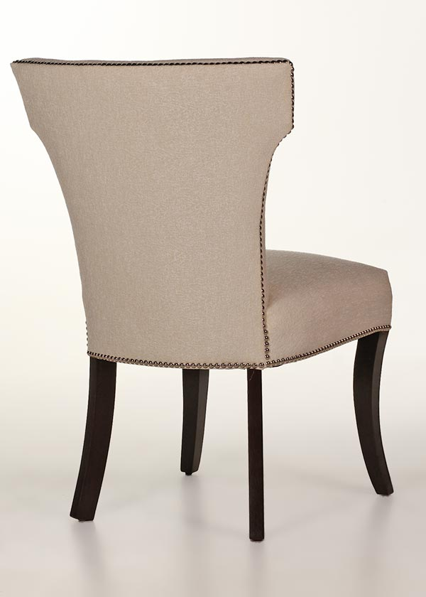 Berkeley dining chair with nailhead trim contemporary design - Nailhead dining room chairs ...