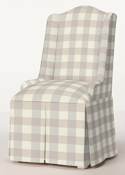 Stratford Petite Parsons Wing Chair
