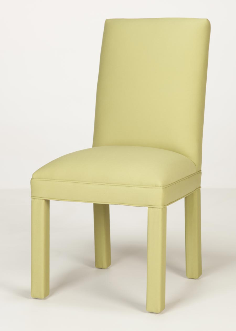 Straight Back Parsons Chair - Manufacturer Direct