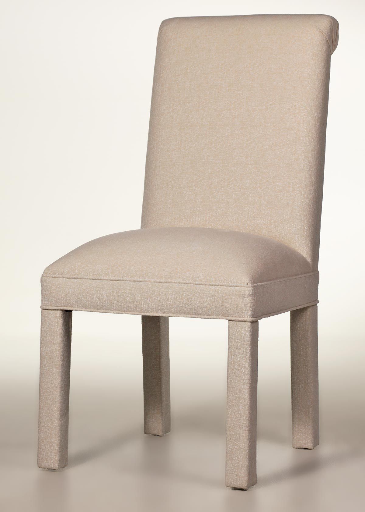 Scroll Back Parson Chair Factory Direct
