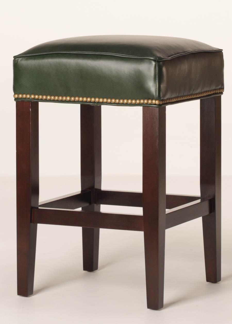 Sonoma 26 Inch Leather Counter Stool Customizable Buy Direct