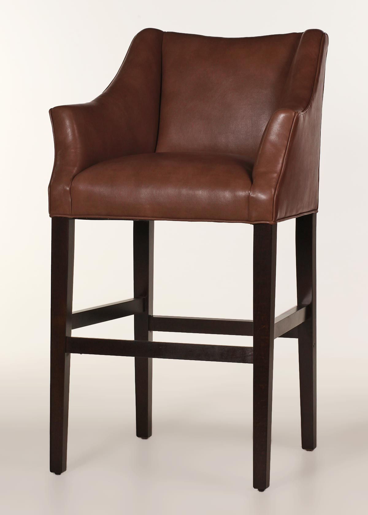 Teton Leather Bar Stool Customize Color Amp Finish