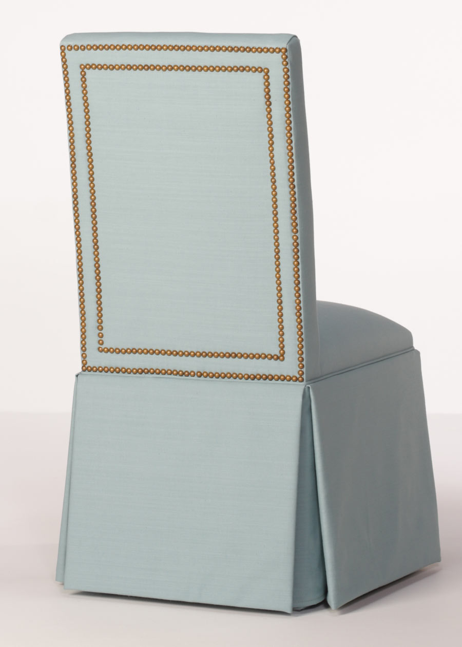 Madison Parsons Chair Skirted Parsons Chair With