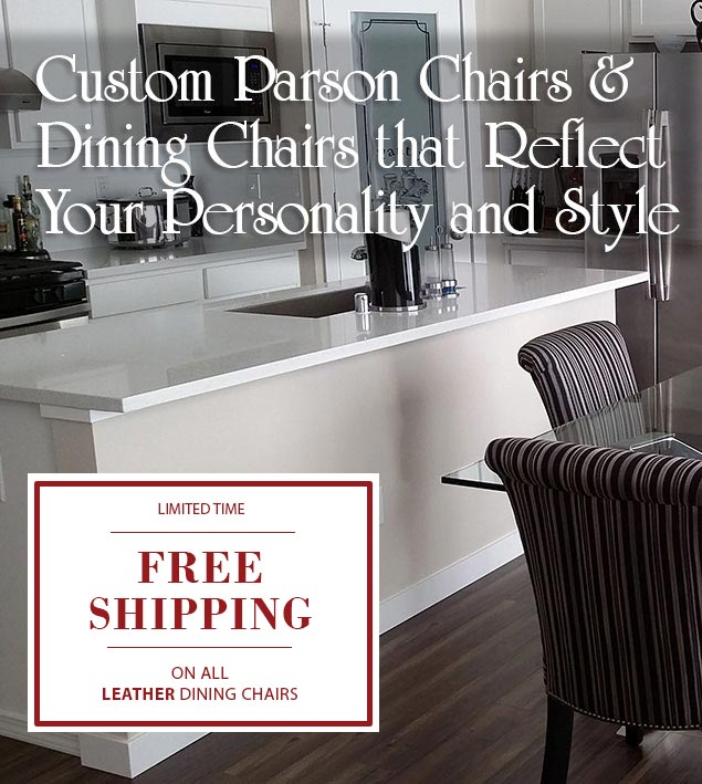 Free Shipping On Purchases of Two or More Skirted Parsons Chairs