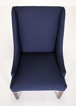Litchfield Parsons Wing Chair Custom Made in the USA