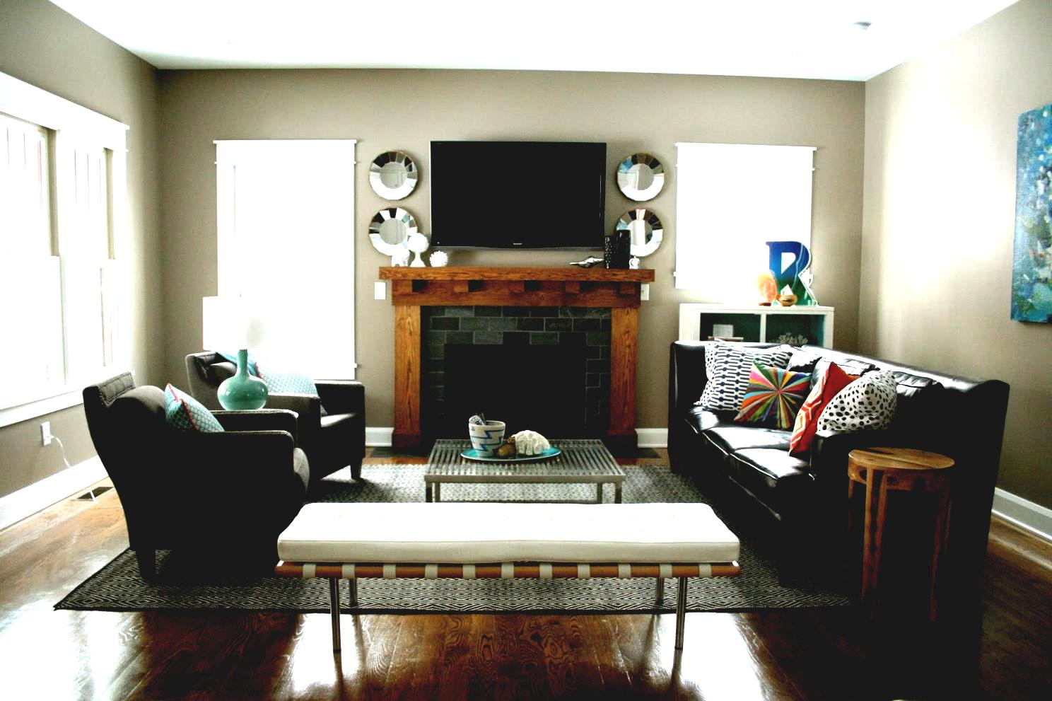 Create Room Borders. bench borders - 24 Gorgeous Living Room Ideas To Inspire A Makeover
