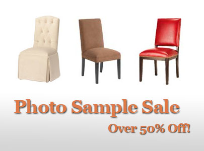 Sample Chairs Well Below Cost