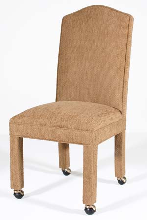 dining chairs with wheels Parsons & Dining Room Chair Casters dining chairs with wheels